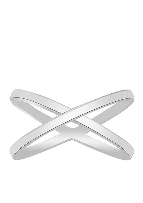 Belk Silverworks Silver-Tone Novelty Design Ring