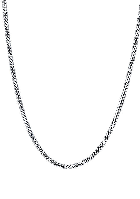 Southern Charm Sterling Silver 3 Layer Necklace