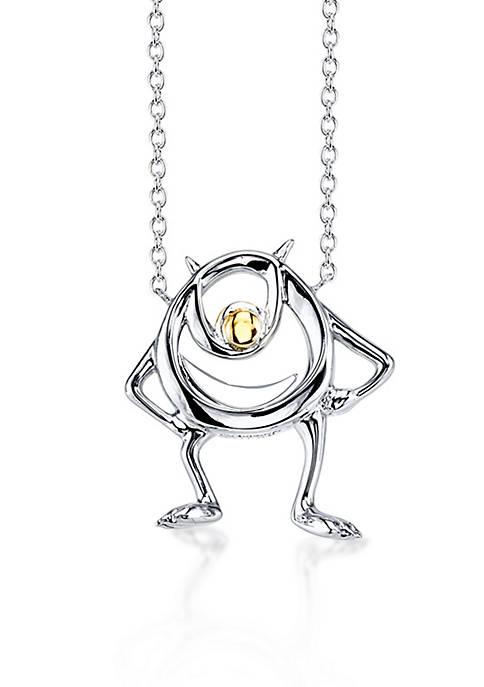 Belk Silverworks Sterling Silver Disney Pixar 10K Yellow