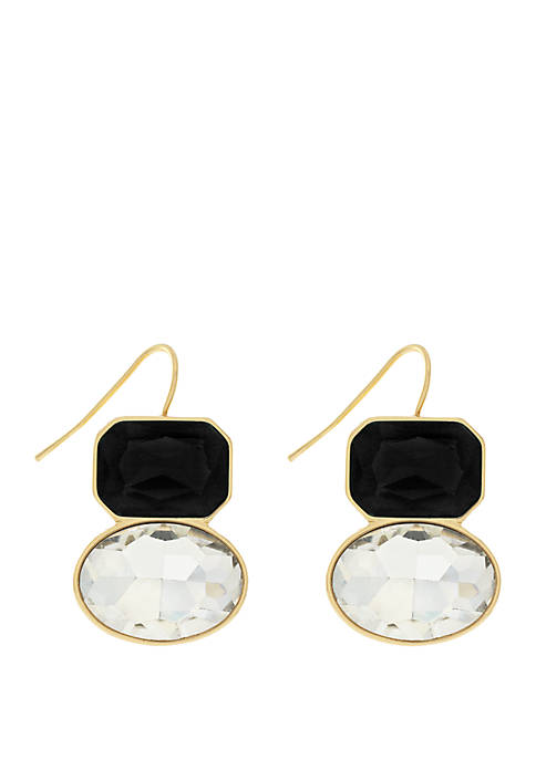 Jessica Simpson Multi Stone Gypsy Earrings