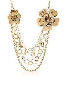 Multi-Chain Drama Necklace