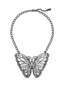 Statement Butterfly Necklace