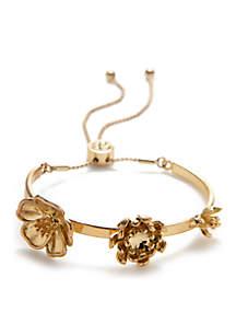 Flowers Slider Bracelet