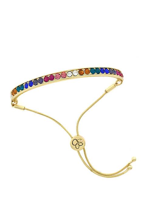 Jessica Simpson Multicoor Bar Slider Bracelet