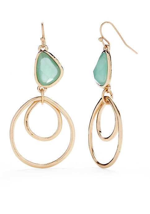 New Directions® Gold-Tone Drop Earrings