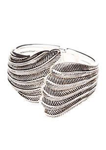 Wing Hinged Bracelet