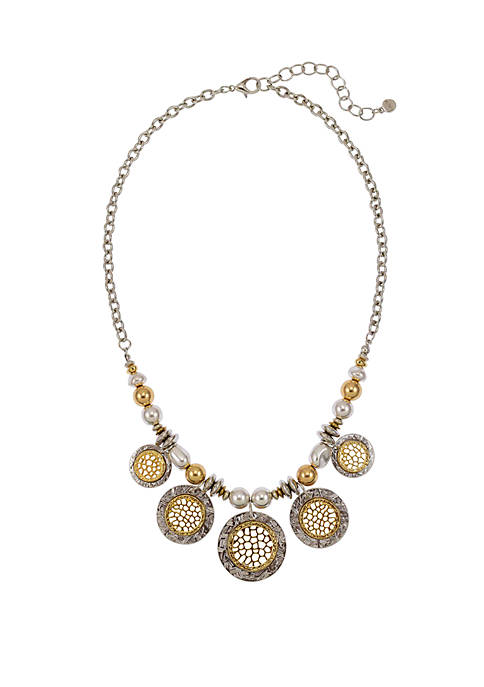 5 Part Frontal Necklace