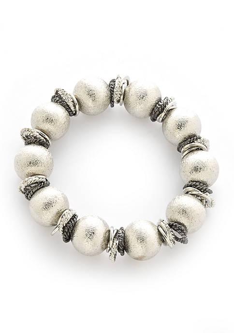 Beaded Scrunch Bracelet