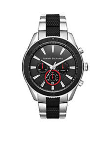 Men's Stainless Steel Chronograph Dial Bracelet Watch