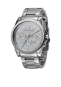 Men's Active Chronograph Stainless Steel Watch