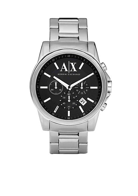 Armani Exchange AX Mens Stainless Steel Chronograph Watch