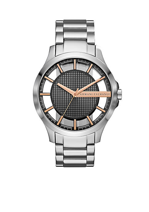Armani Exchange AX Stainless Steel Mens Dress Watch