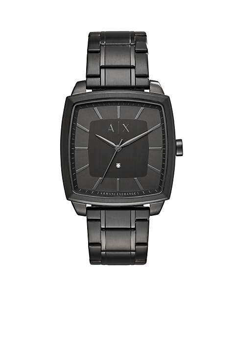 Armani Exchange AX Mens Three Hand Stainless Steel
