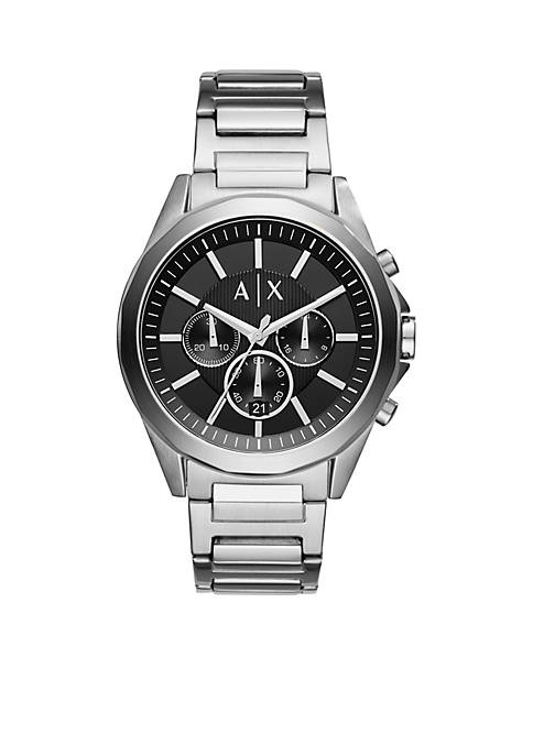 Armani Exchange AX Mens Drexler Chronograph Stainless Steel