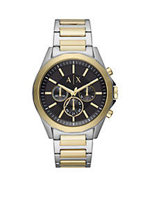 Men's Two-Tone Stainless Steel Chronograph Watch