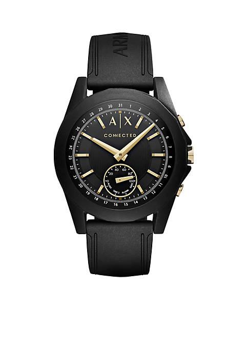 Armani Exchange AX Mens Drexler Black Hybrid Smartwatch