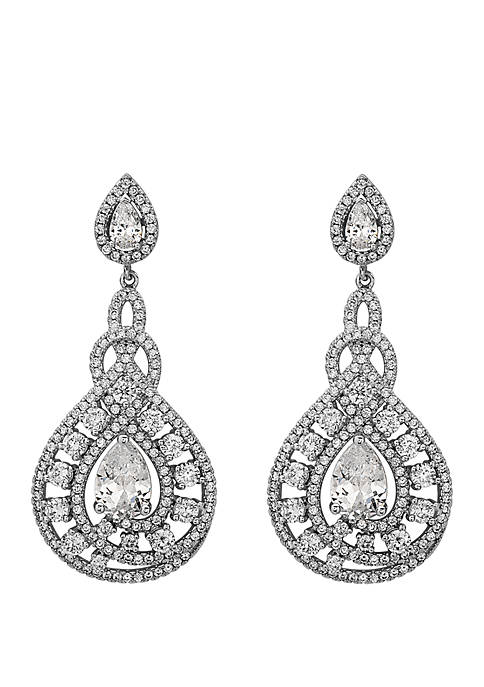 Nina Glamorous Statement Earrings