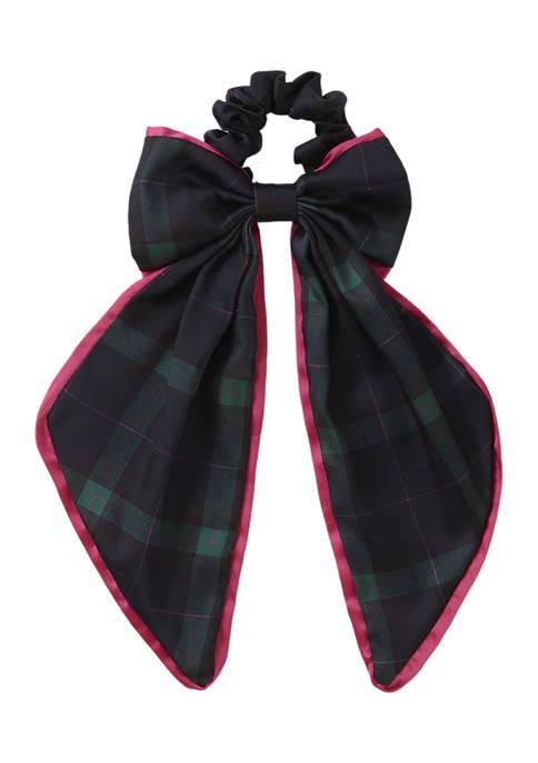 Crown & Ivy™ Plaid Bow Hair Scrunchie