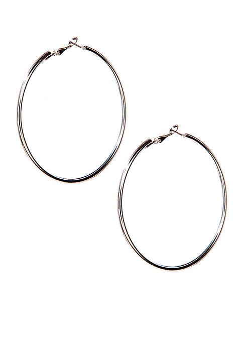 Belk Large Hoop Earrings