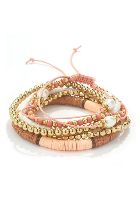 7-Piece Stretch Bracelet Set