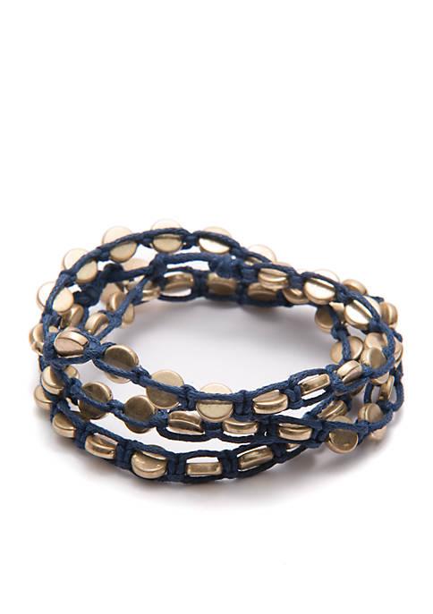 Tie Bracelet, Set of 3