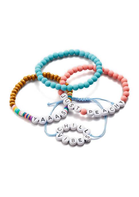 4-Piece Mixed Bracelet Set