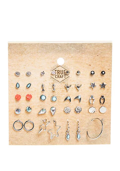 20 Pair Earring Set