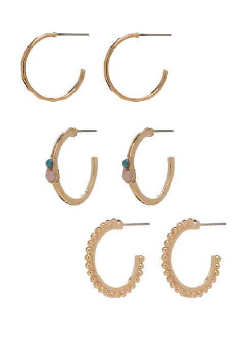 Set of 3 Multi Earring Set