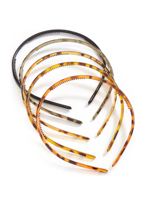 Mixed Plastic Headbands