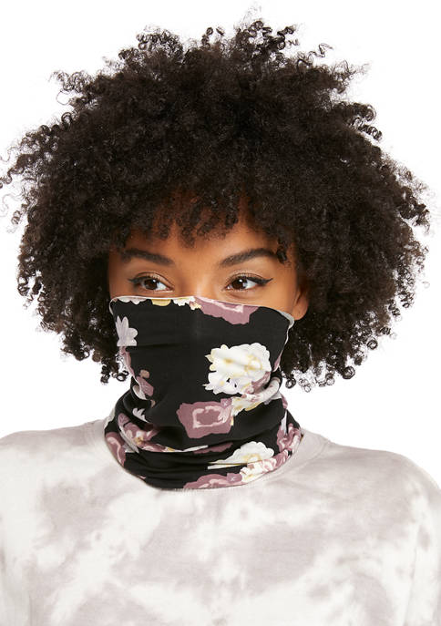 Large Rose Print Multi Wear Head Wrap