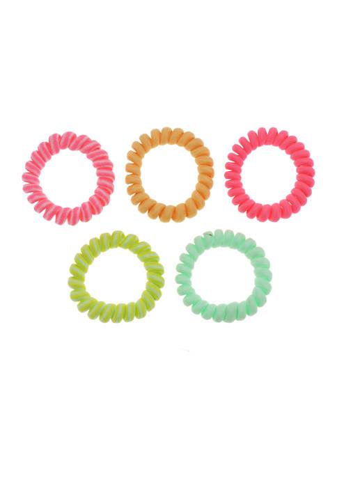 5 Piece Fabric Twisters
