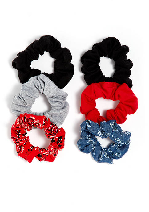 6 Pack of Scrunchies