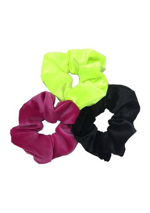Solid Velvet Fabric Twisters