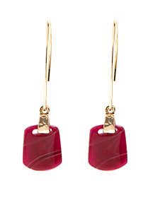 Gold Berry Threader Earrings