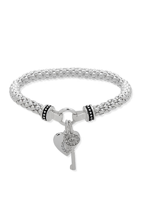 Nine West Boxed Crystal Stretch Bracelet