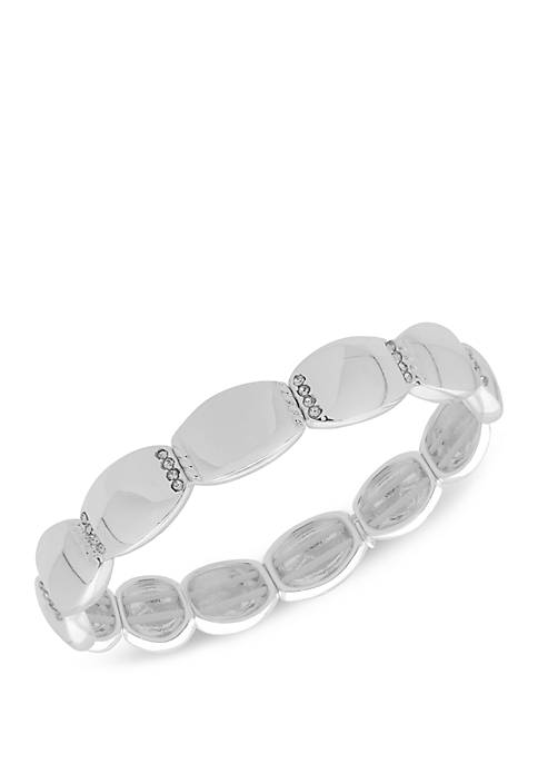 Boxed Crystal Stretch Bracelet