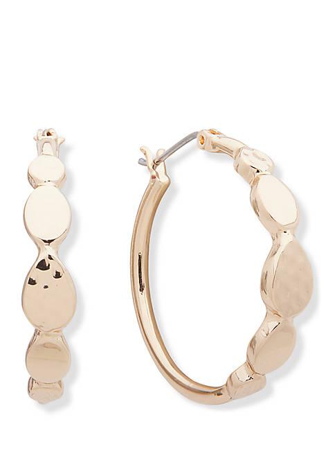 Click Top Hoop Earrings