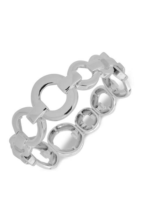 Metal Ring Stretch Bracelet