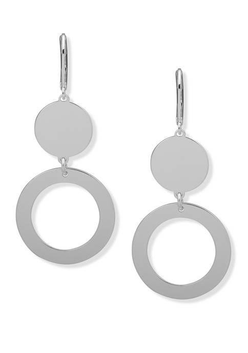Ring Double Drop Earrings
