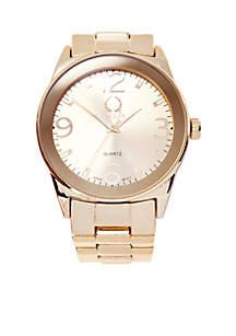 Gold Metal Bracelet Watch
