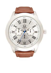 Men's Silver-Tone Classic Watch