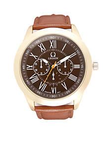 Men's Gold-Tone Classic Watch