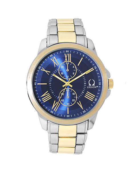 Legion Mens Two-Tone Chronograph Watch