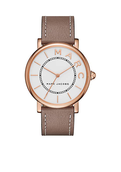 Marc by Marc Jacobs Womens Roxy Rose Gold-Tone