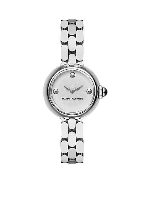 Marc by Marc Jacobs Womens Courtney Stainless Steel