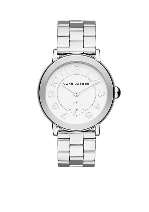 Marc by Marc Jacobs Womens Riley Stainless Steel