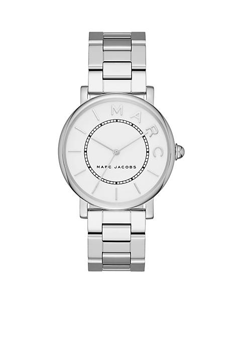Marc by Marc Jacobs Womens Roxy Stainless-Steel Three-Hand