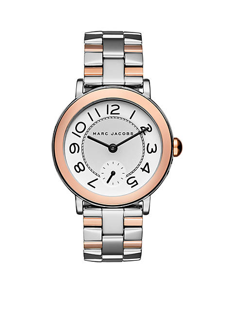 Marc by Marc Jacobs Two Tone Riley Watch