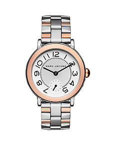 Marc Jacobs Two Tone Riley Watch