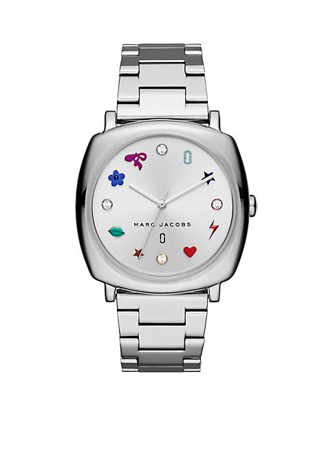 Marc by Marc Jacobs Womens Stainless-Steel Mandy Three-Hand